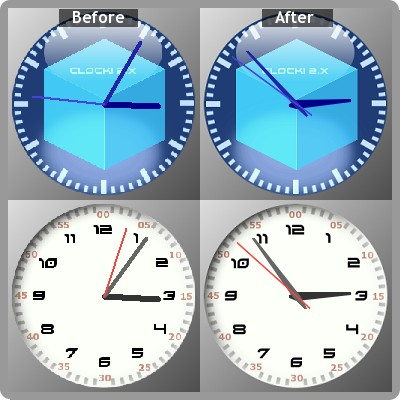Comparing Clock 2.2 with Clock 2.3 Preview Release