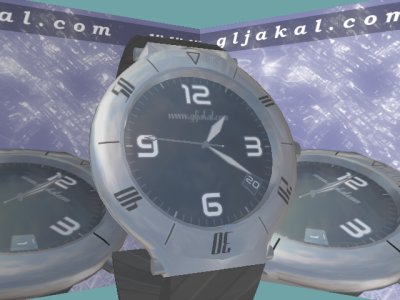 Clock 3d screensaver